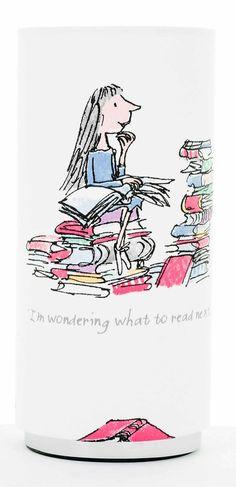 Roald Dahl Design Childrens Table Lamp.MatildaCharlie by KuShade