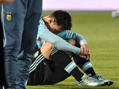 Watch Leo Messi quit the Argentina national team (Video)