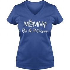 I Love Mommy Of A Princess  Custom T T shirts