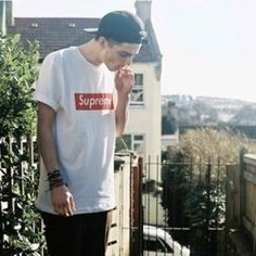 BOX LOGO SIGNATURE SHORT SLEEVE TEE
