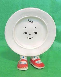 weird plate-boy