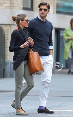 Getting a bit obsessed with the Olivia Palermo Zara bag-borsa in buffalo leather...