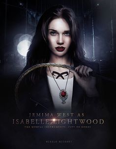 Isabelle Lightwood - Poster