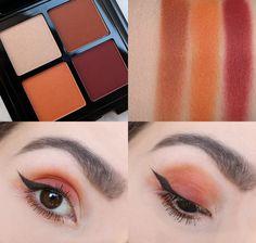 NYX Full Throttle Color Riot 08 Eyeshadowpalette.  #NYX #nyxcosmetics #beautyblog #beautyblogger #anotherkindofbeautyblog #blogger #emu #makeup #eyeshadow #lidschatten #lidschattenpalette #nyxcoloriot #colorriot #nyxfullthrottle #orange #red #orangeeyeshadow #redeyeshadow