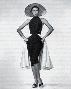 Edith Head Design for Grace Kelly, To Catch a Thief