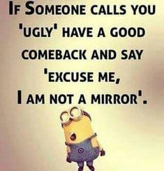 25 Hilarious jokes Minions Everyone loves minions more than any other personality. So you love Minions and also looking for Minions jokes then we have posted a lovly minion jokes.Read This 25 Hilarious jokes Minions 25 Really Funny Memes, Stupid Funny Memes, Funny Relatable Memes, Funny Texts, Hilarious Jokes, Funny Insults, Funny Stuff, Fun Funny, Insulting Memes