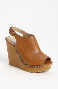 Steve Madden 'Tryffle' Wedge Sandal available at #Nordstrom