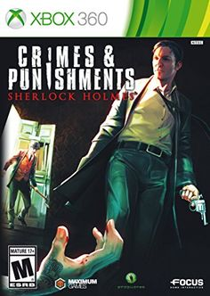 Sherlock Holmes Crimes  Punishments  Xbox 360 ** Find out more about the great product at the image link. Note:It is Affiliate Link to Amazon.