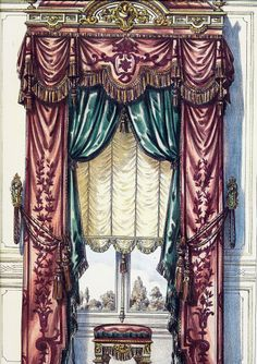 108 Best Victorian Curtains Images On Pinterest Curtains