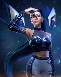 League Of Legends Characters, Lol League Of Legends, Female Characters, Evil Girl, Video Games Girls, Mileena, Harley Quin, Fantasy Art Women, Cool Anime Girl