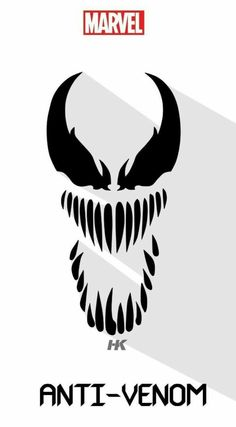 anti-venom muy fuerte y cool. Marvel Villains, Marvel Characters, Marvel Art, Marvel Dc Comics, Anti Venom Marvel, Venom Art, Venom Comics, Superhero Poster, Marvel Wallpaper