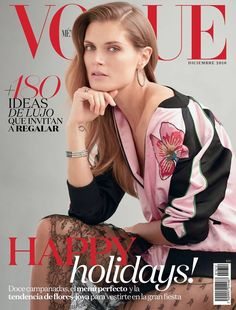 Cover - Best Cover Magazine  - Malgosia Bela by Will Davidson for Vogue Mexico December 2016 Cover   Best Cover Magazine :     – Picture :     – Description  Malgosia Bela by Will Davidson for Vogue Mexico December 2016 Cover  -Read More –