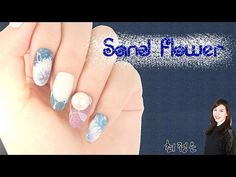 (ENG CC) 샌드플라워 네일아트 / Sand flower nail art | POLARIS