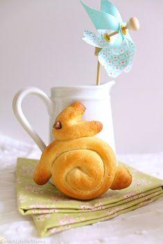CookALife!byMaeva • Petits lapins briochés de Pâques (recette vegan, sans lactose, sans œuf)