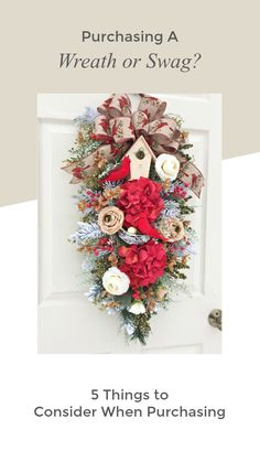 5 Ways to Make Your Silk Flower Wreaths Look More Realistic - Timeless Floral Boutique Silk Flower Wreaths, Silk Flowers, Floral Wreath, Christmas Wreaths, Christmas Decorations, Holiday Decor, Summer Design, All Holidays, Calla Lily