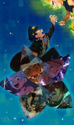 Jojo's Bizarre Adventure Anime, Jojo Bizzare Adventure, Dragon Rey, Jojo Stardust Crusaders, Jojo's Adventure, Adventure Movies, Manga Anime, Anime Art, Animes On