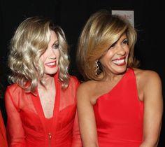Gorgeous Hairstyles for Older Women: Donna Mills; Hoda Kotb