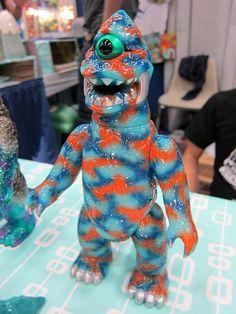 Gargamel Zagoran #kaiju #gargamel #ggml #toys #vinyl #sofubi #Japan #zagoran #design #art