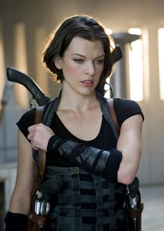 """Milla Jovovich in """"Resident Evil: Afterlife,"""" this is my favorite series of movies that Milla is in! Milla Jovovich, Constantin Film, Actrices Hollywood, Badass Women, Belle Photo, Actors & Actresses, Beautiful People, Celebs, Female"""