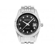 Silver   Black Graceful Watch 23f078ad07