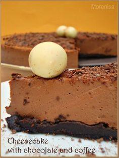 LA COCINA DE MORENISA: Cheesecake With Chocolate and Coffee