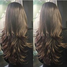 Projeto Along Hair – Recupere em 30 dias Haircuts For Long Hair Straight, Curls For Long Hair, Bun Hairstyles For Long Hair, Long Hair Cuts, Hairstyles Haircuts, Gorgeous Hair Color, Cool Hair Color, Long Indian Hair, Medium Hair Styles