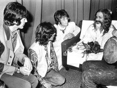 The Beatles in India