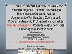 29 08 2014_comunicado_segunda chamada by Walter Alencar via slideshare