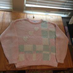Sweaters - Vintage Pastel Sweater