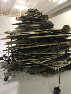 Anselm Kiefer - detail - The Margulies Collection