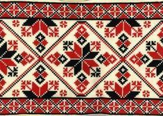 Hungarian Embroidery Patterns Another beautiful Hungarian embroidery chart Chain Stitch Embroidery, Learn Embroidery, Embroidery Stitches, Embroidery Patterns, Hand Embroidery, Cross Stitch Borders, Cross Stitching, Cross Stitch Patterns, Stitch Head