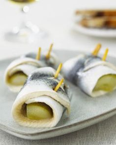 Polish Rollmops Herring Appetizer (Rolmopsy) Recipe