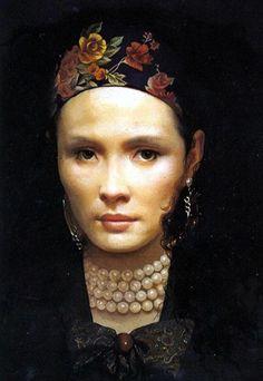 Ling - detail : Yuqi Wang : Art Scans : Scanopia