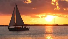 learn to sail. sunset would be an added bonus.