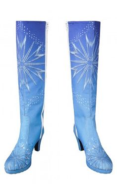 As04 Frozen2 elsa boots This is Elsa boots  Our size are in Europe size, please choose size from right hand side.