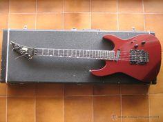 guitarra electrica ESP MIRAGE DELUXE años 80 new york, incluye funda original / Instrumentos musicales en todocoleccion
