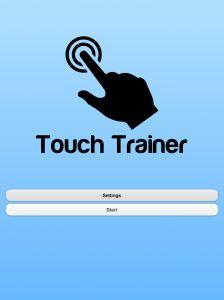 Touch Training. Entrenando en el uso de iPad a alumnos y alumnas conTEA