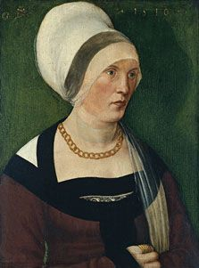 Wolf Traut  Portrait of a Woman  1510