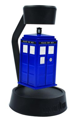 Doctor Who Levitating Timelord's Spinning Tardis | eBay