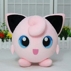 "14"" Pokemon Pocket Monster Jigglypuff Plush Toy Doll Stuffed Anime Cosplay Gift  Also gunna be mine soon!"