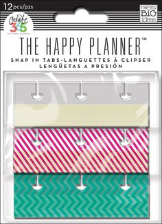 Snap-In Tabs for The Happy Planner™ | me & my BIG ideas