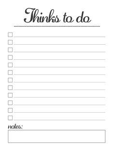 Scarica una To Do List semplice e pulita