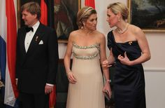 Princess Maxima - HRH Queen Beatrix Of The Netherlands And Crown Prince Couple Willem Alexander And Maxima On Germany Visit - Day 1