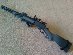 Tactical Lever Action Rifle | Armory Blog
