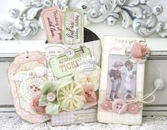 adorable pocket and tags by Melissa