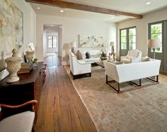 Awesome floors! Southern Acadian House cote de texas