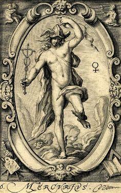 Hendrick Goltzius (Dutch, 1558-1617) The Planets - Mercurius. 1597 г. The British Museum