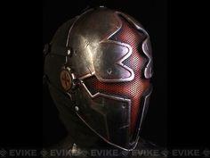 "Evike.com R-Custom Fiberglass Wire Mesh ""Red Paladin"" Mask Inspired by Hellgate, Tac. Gear/Apparel, Head Gear, Head - Masks (Full) - Evike.com Airsoft Superstore"