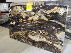 Magma Brown Granite Slab 31763