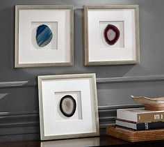Framed Agate Shadowbox. This price is unreal, could do this cheaper.